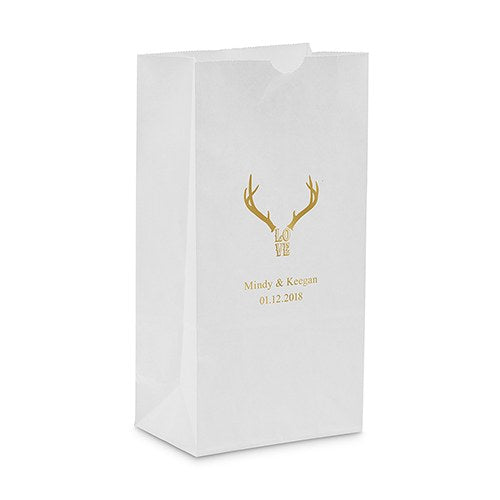 Love Antlers Self Standing Paper Bag