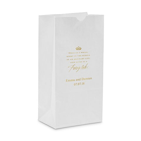 Love Gives Us A Fairy Tale Self Standing Paper Bag