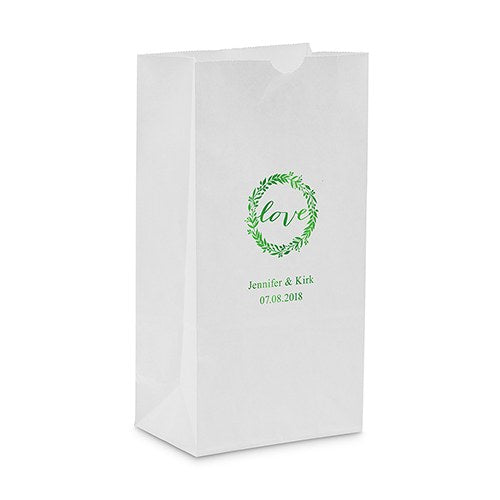 Love Wreath Self Standing Paper Bag