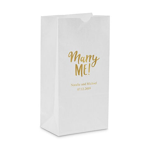 Marry Me Self Standing Paper Bag