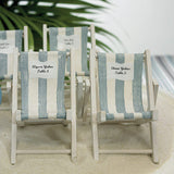 Miniature Striped Deck Chairs Beach Favors