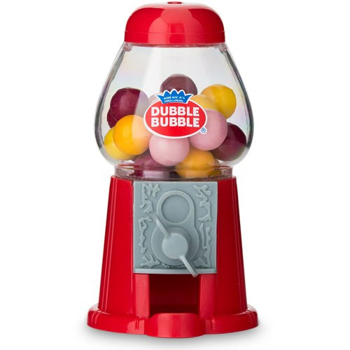 Mini Candy Gumball Machine - Red