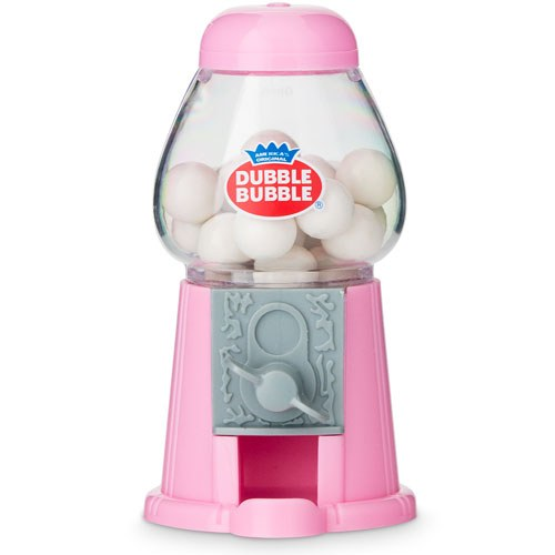 Mini Candy Gumball Machine - Pink