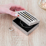 Modern Jewelry Box - Striped Print