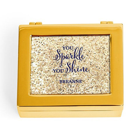 Modern Jewelry Box - You Sparkle, You Shine