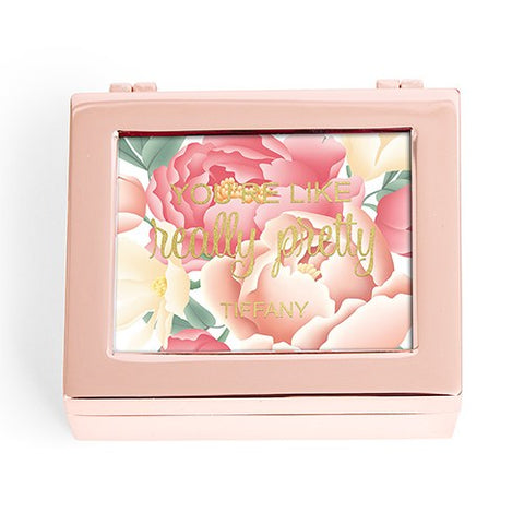Modern Jewelry Box - Floral You're Like Really Pretty