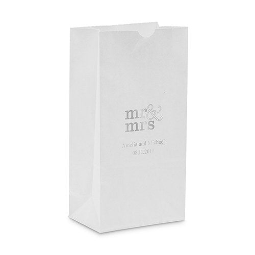 Mr & Mrs Serif Self Standing Paper Bag