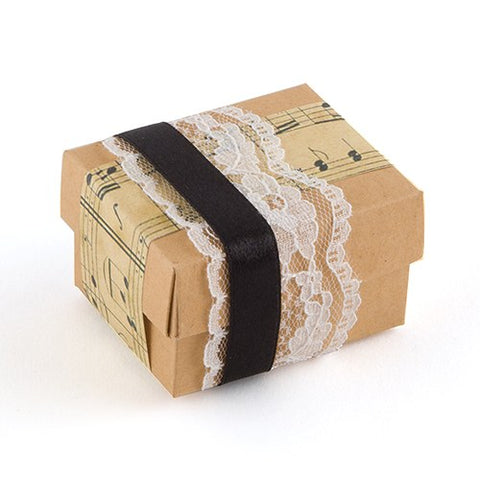 Kraft Favor Box Wrapping Kit