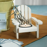 Beach Chair Favor Candle Holders