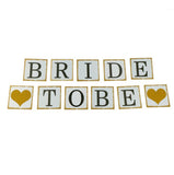 Bride to Be Banner - Serif