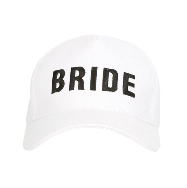 Bride Cap - Black and White