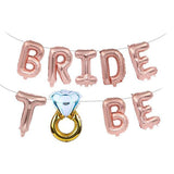 Bride to Be Balloons Set