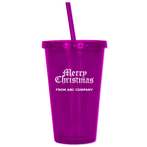 Acrylic Tumbler - Purple