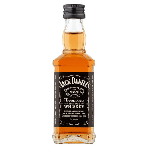 6 Jack Daniels Miniature Bottle