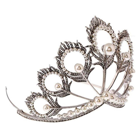 Mikimoto inspired wedding tiara