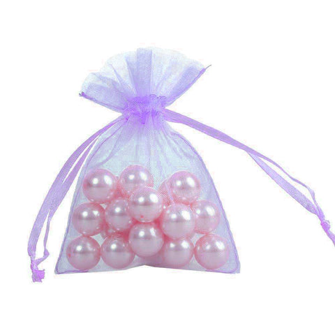 50 Sheer Fairy Pouches - Lavander
