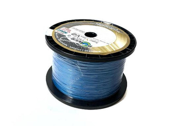 ** WE WILL SPOOL IT FOR YOU !!! ** POWER PRO SUPER SLICK 8 V2 BRAID (15LB. BLUE)