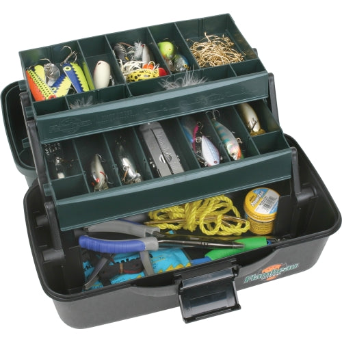 Flambeau Classic Series 2-tray tackle box
