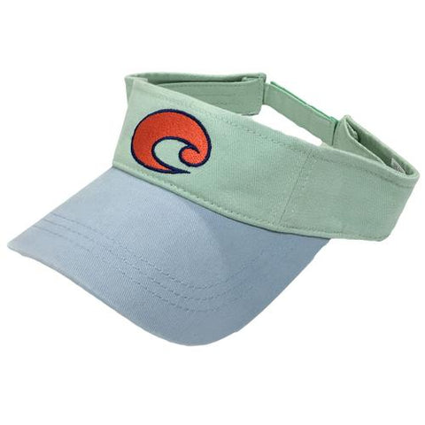 Costa Hats - Cotton Visor (Carolina Blue)