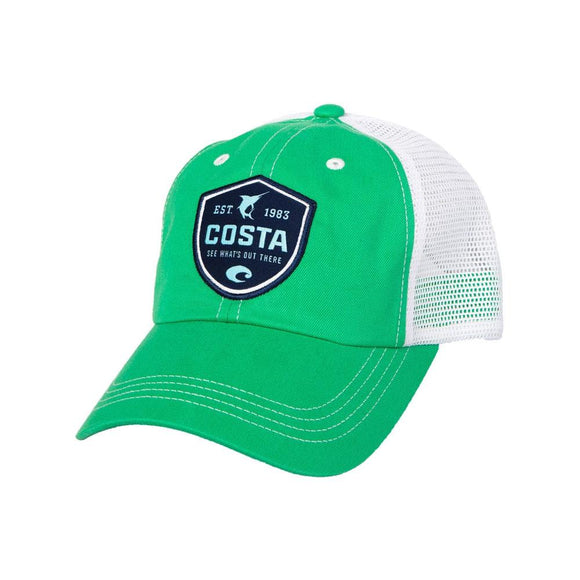 Costa Hats - Shield Trucker (Green)