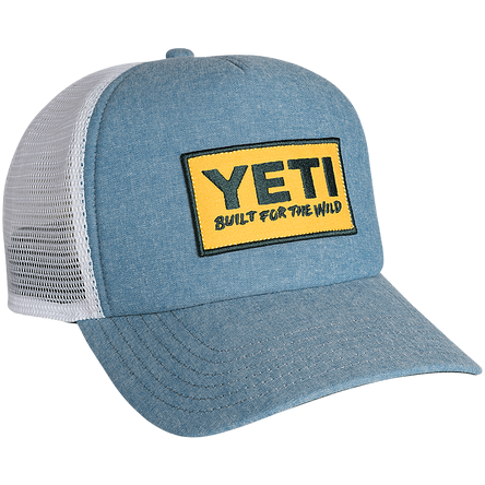 YETI DEEP FIT FOAM PATCH TRUCKER HAT