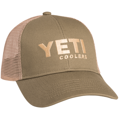 YETI TRADITIONAL TRUCKER HAT (OLIVE)