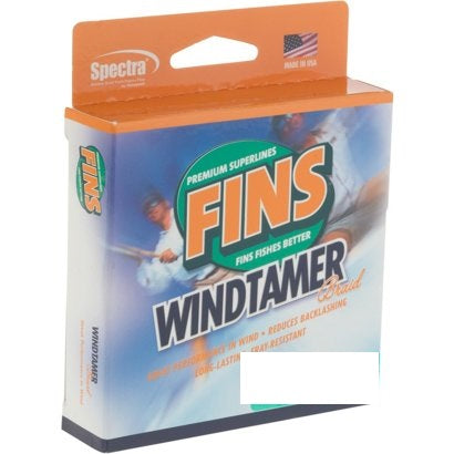 Fins WindTamer Braid- 300 Yard Spool