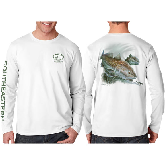 Southeastern Longsleeve Fishing Shirt - Redfish