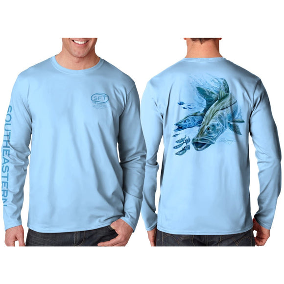 Southeastern Longsleeve Fishing Shirt - Snook