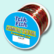 Trik Fish Armor Tough Premium Line- Camo 1/4 lb Spool