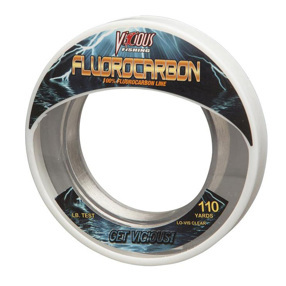 Vicious Fluorocarbon Leader (Clear) - 110 Yards