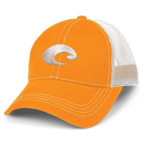 Costa Hats - Mesh Hat (Orange)