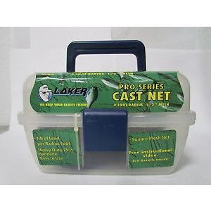 Laker Pro Series 4ft Cast Net 1/2