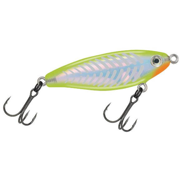 Mirrolure C-Eye Pro Series Mirrodine Chartreuse Silver Bones Lures & Baits