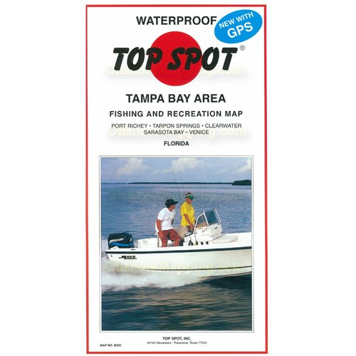 Top Spot Fishing Chart (Tampa Bay Area)