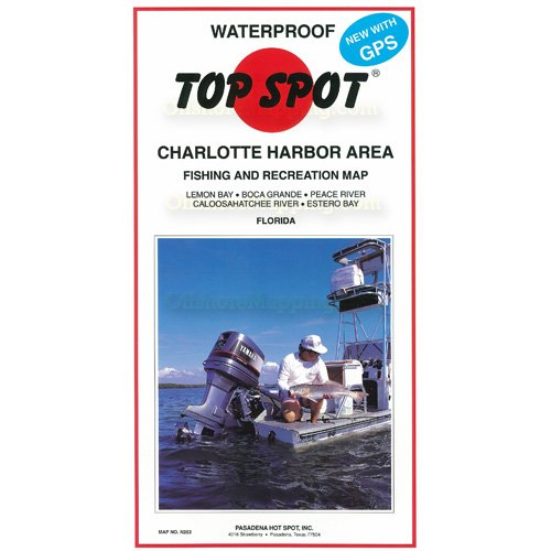 Top Spot Fishing Chart (Charlotte Harbor Area)