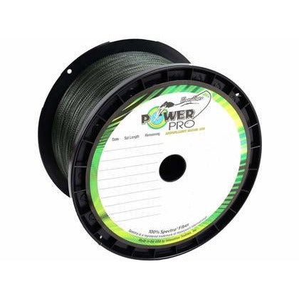 ** WE WILL SPOOL IT FOR YOU !!! ** POWER PRO BRAID (15LB. GREEN)