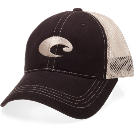 Costa Hats - Mesh Hat (Black Stone)