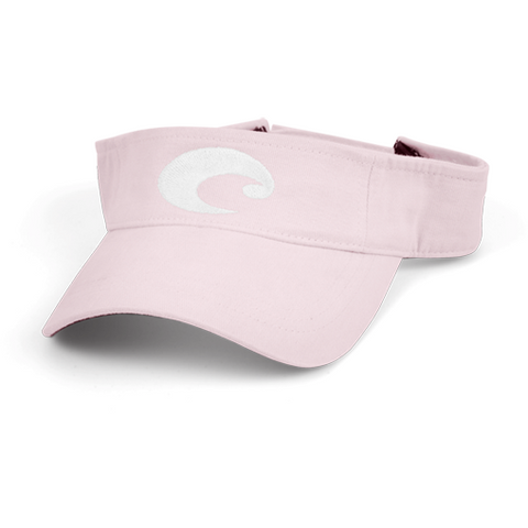 Costa Hats - Cotton Visor (Pink)