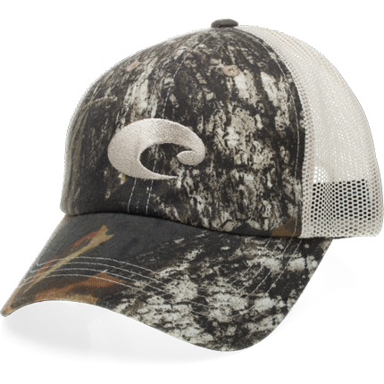 Costa Hats - Mesh Hat (Camo/Stone)