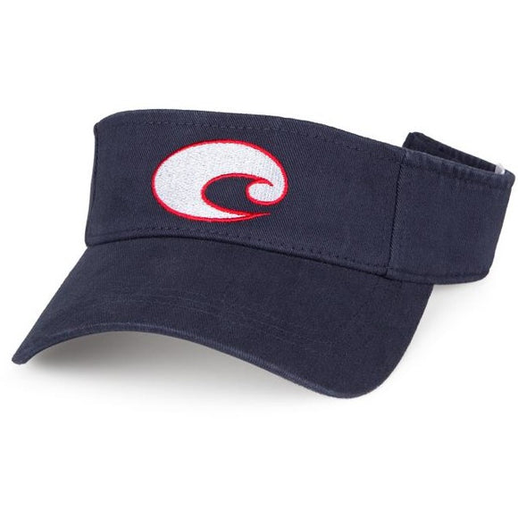 Costa Hats - Cotton Visor (Navy)