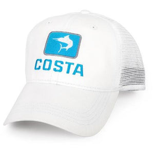 Costa Hats - Marlin Trucker (White)