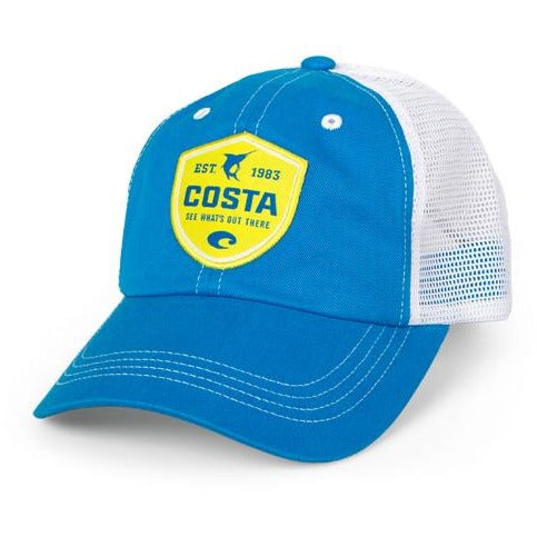Costa Hats - Shield Trucker (Blue)
