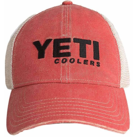 premium selection b3de1 f26ce Red Washed Low-Pro Trucker Hat