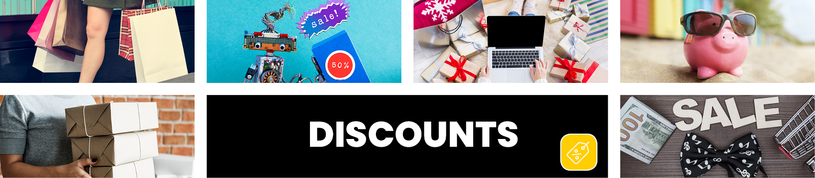 Discounts — Tagged