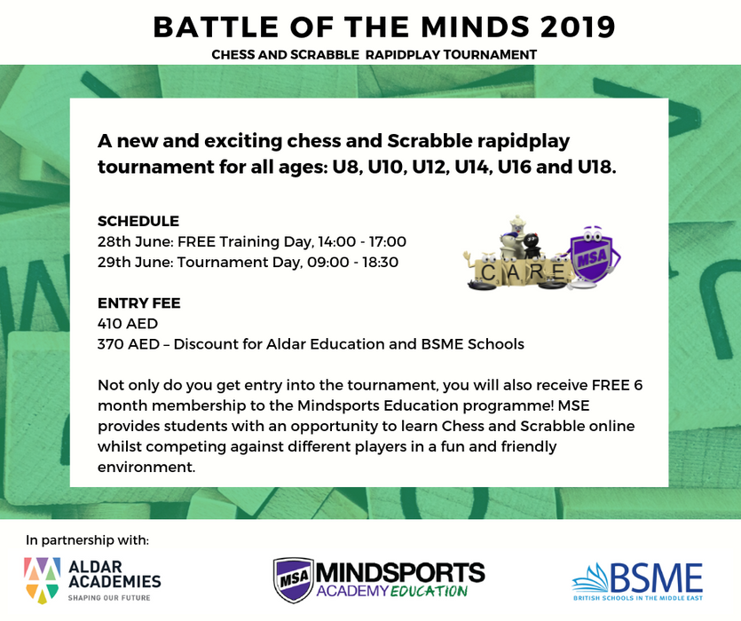 Battle of the Minds 2019 - BSME/Aldar Academy Member