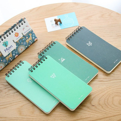 Creative Green time Notebook Diary exercise book