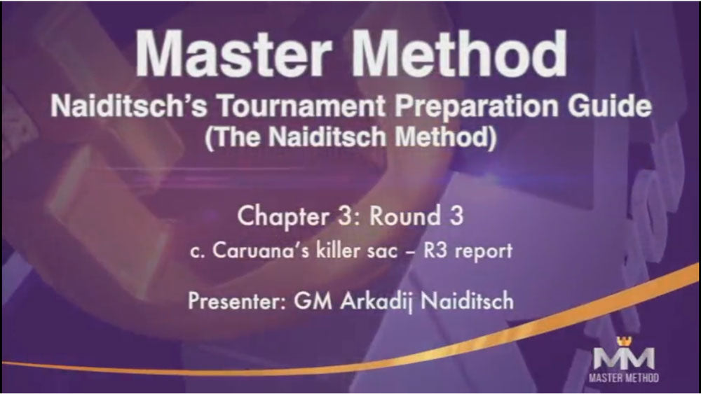 Naiditsch Method #1: Tournament Preparation Guide