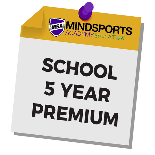 School Premium Membership 5 Year