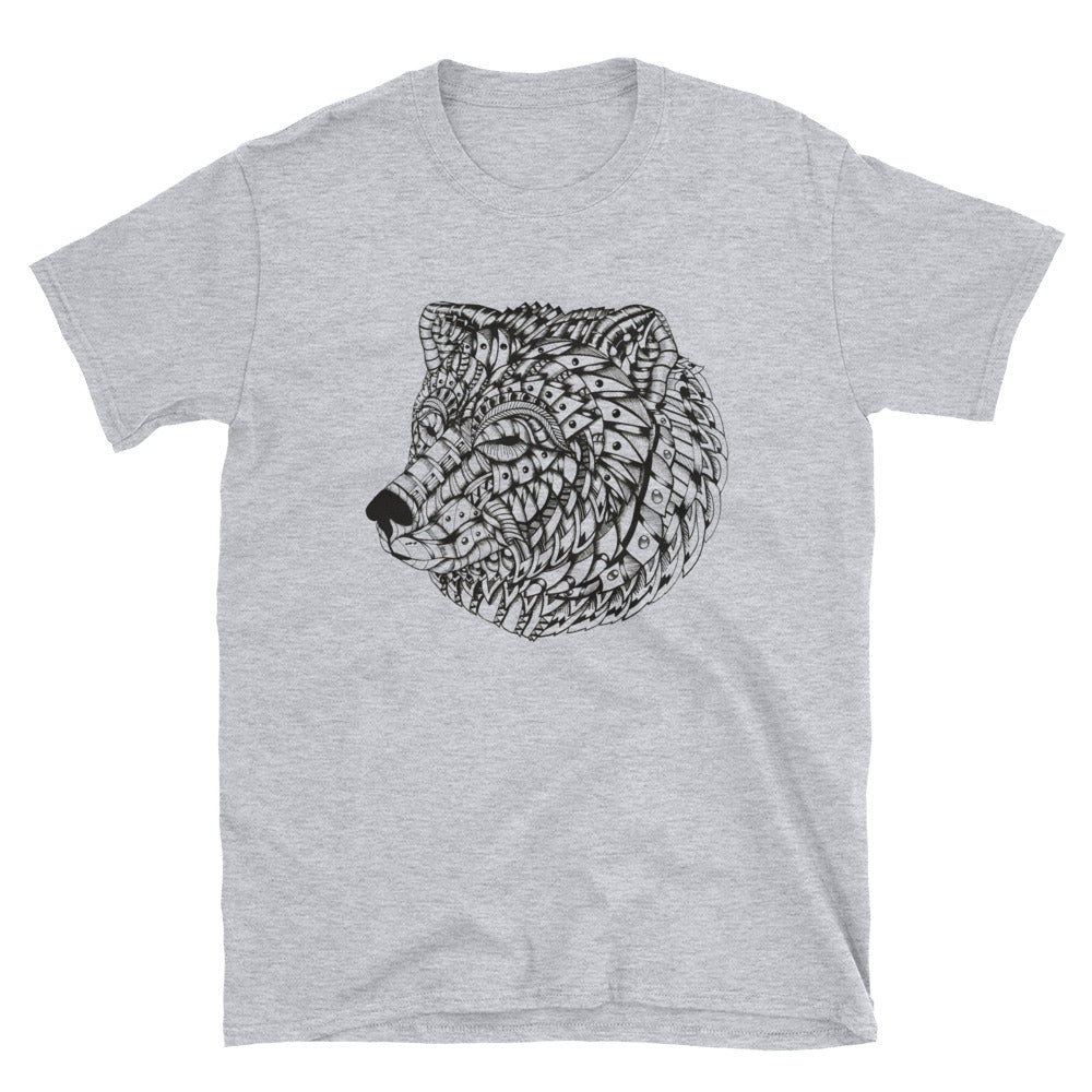 Ornate Bear T-Shirt by BXX Studio